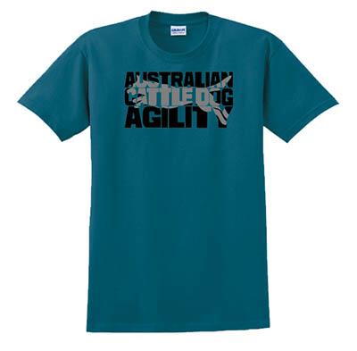 Blue Heeler Agility Tshirt