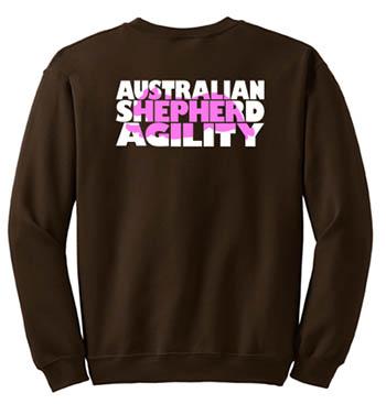 Australian Shepherd Agility Sweatshirt