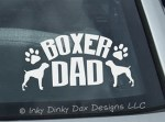 Boxer Dad Decal