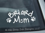 Briard Mom Decal