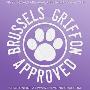 Brussels Griffon Stickers