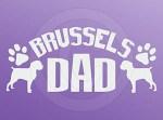 Brussels Griffon Dad Decals