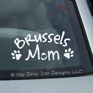 Brussels Griffon Decal
