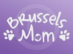 Brussels Griffon Mom Decal