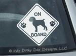 Brussels Griffon On Board Sticker