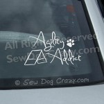 Agility Addict Car Decals