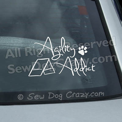 Agility Addict Car Decals