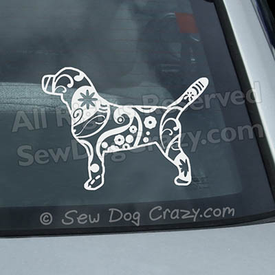 Paisley Beagle Decals