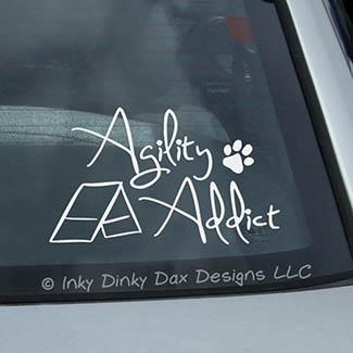 Agility Addict Decal