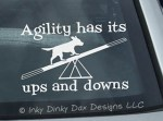Dog Agility Stickers
