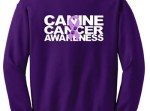 Canine Cancer Awareness Sweatshirt
