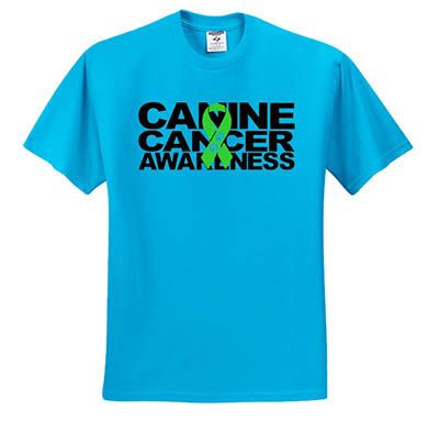 Canine Cancer Awareness T-Shirt