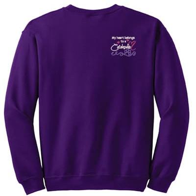 Embroidered Catahoula Sweatshirt
