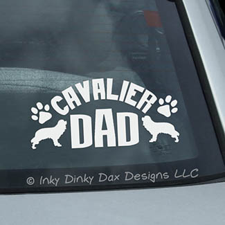 Cavalier Dad Decal