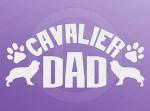 Cavalier Dad Sticker