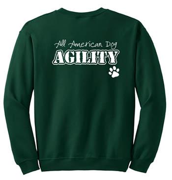 All American Dog Agility Sweatshirt