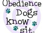 Obedience dog apparel