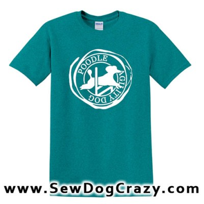 Poodle Agility Tshirt