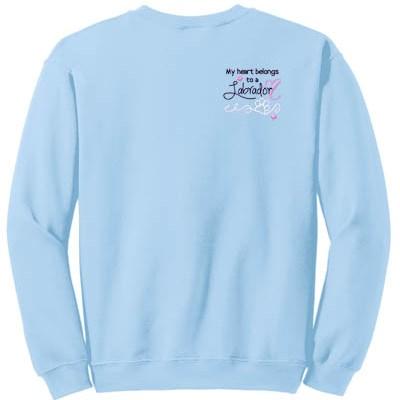 Cute Embroidered Labrador Sweatshirt