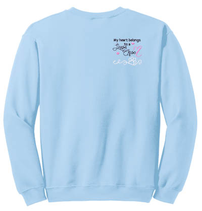 Embroidered Lhasa Apso Sweatshirt