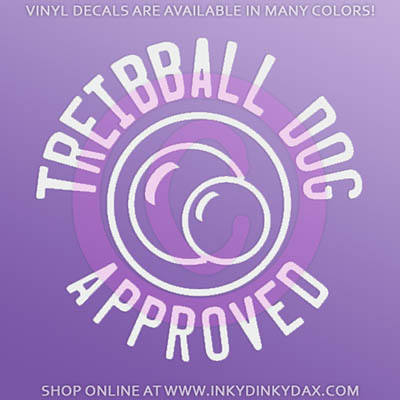Treibball Decals