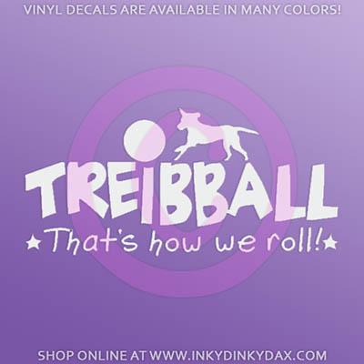 Treibball Decals