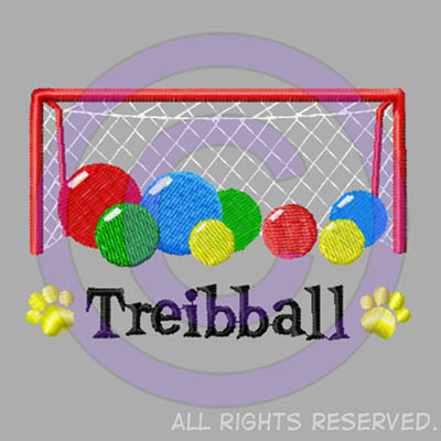 Embroidered Treibball Shirts