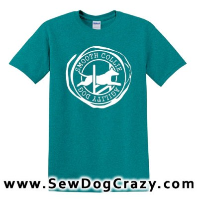 Smooth Collie Agility Tshirt
