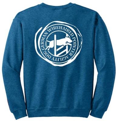 German Wirehaired Pointer Agility Sweatshirt