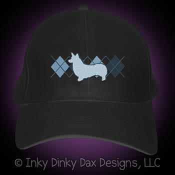 Embroidered Corgi Hat