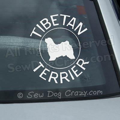 Tibetan Terrier Stickers