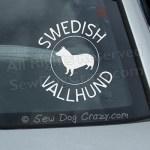 Swedish Vallhund Car Stickers
