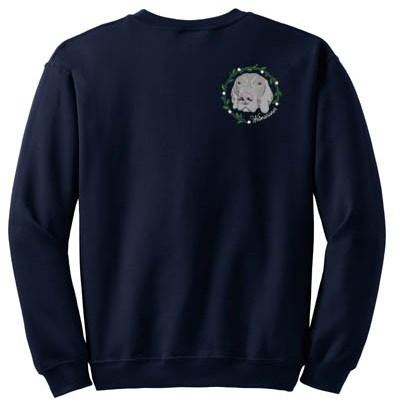 Embroidered Weimaraner Sweatshirts