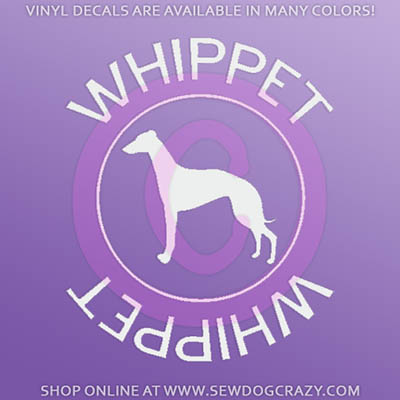Whippet Car Sticker