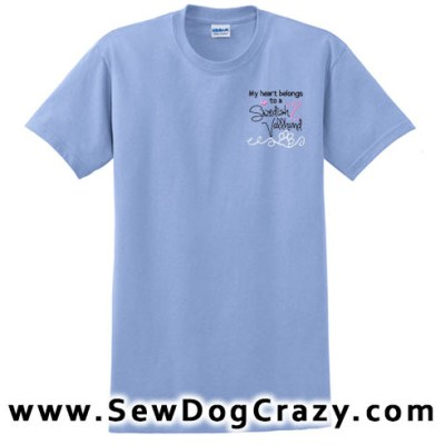 Embroidered Pretty Swedish Vallhund Tshirts