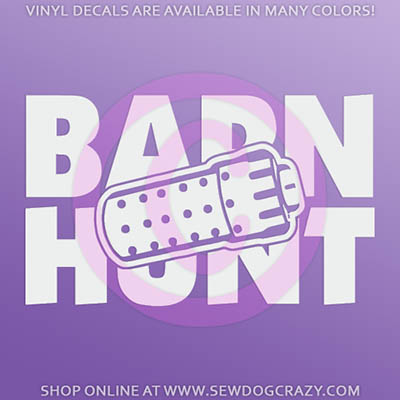 Barn Hunt Stickers