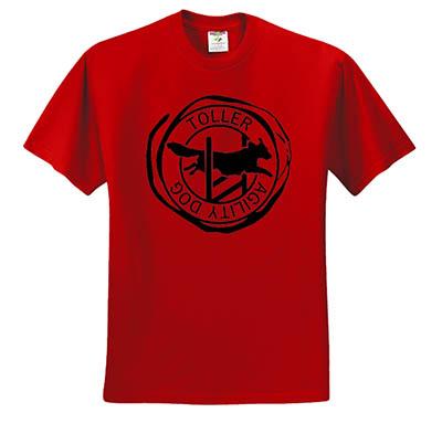 Nova Scotia Duck Tolling Retriever Agility Tshirt