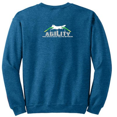 Embroidered Toller Agility Sweatshirt