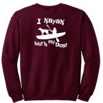 Dog Kayaking Sweatshirt