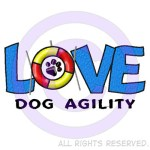 Love Dog Agility Shirts