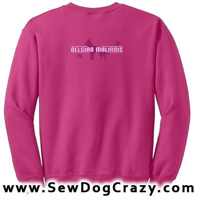 Embroidered Malinois Sweatshirt