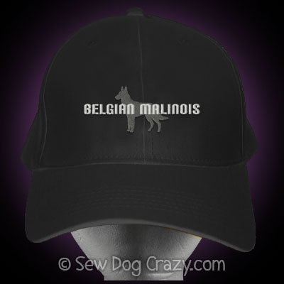 Embroidered Malinois Hat