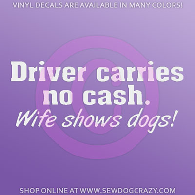 Funny Show Dog Stickers