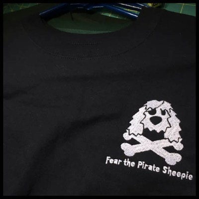 Pirate Sheepdog Sweatshirt