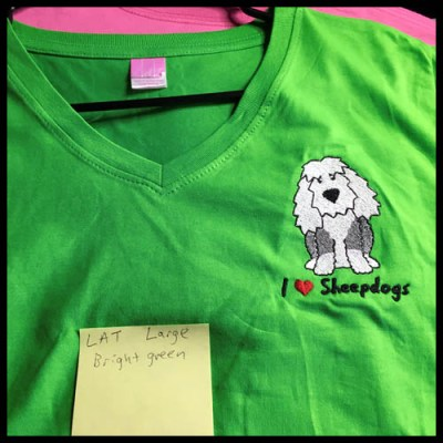 Old English Sheepdog TShirt