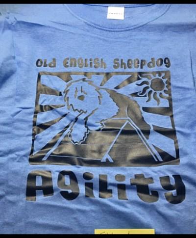Old English Sheepdog Agility TShirt