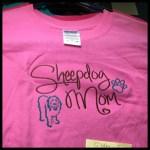 Old English Sheepdog Mom Shirts