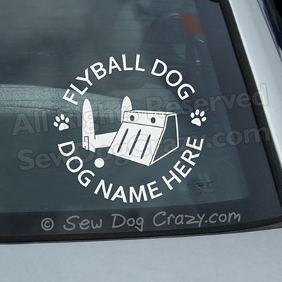Customized Flyball Sticker