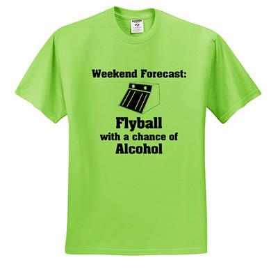 Funny Flyball TShirt