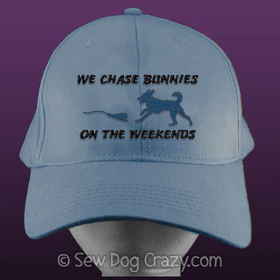 Embroidered Lure Coursing Hats